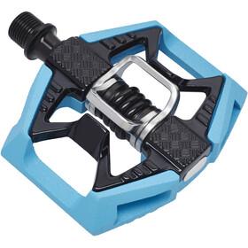 Crankbrothers Double Shot 2 Pedalen blauw/zwart